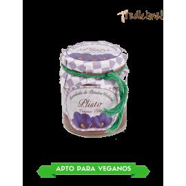 Mermelada de pétalos de violeta