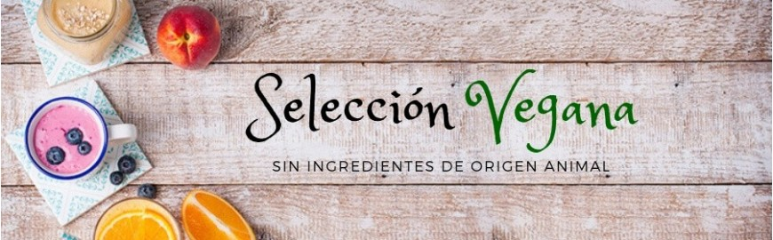 Selección Vegana - SIN INGREDIENTES DE ORIGEN ANIMAL