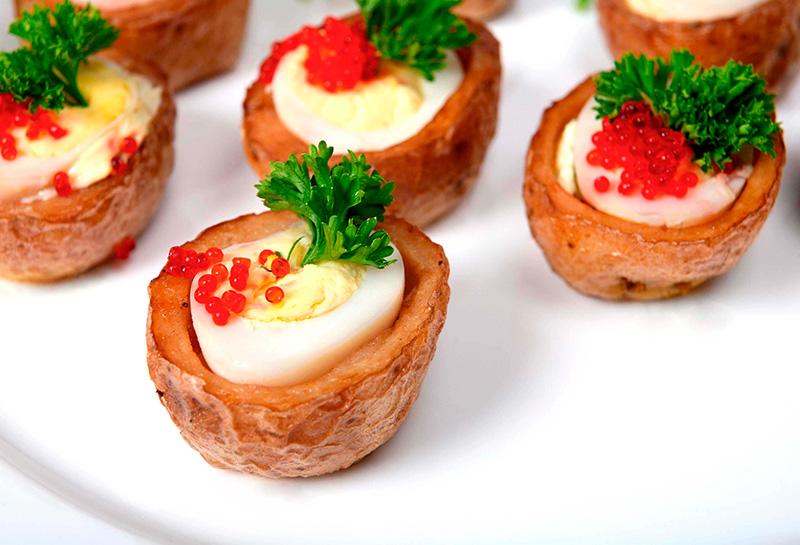 patatas con huevo picante