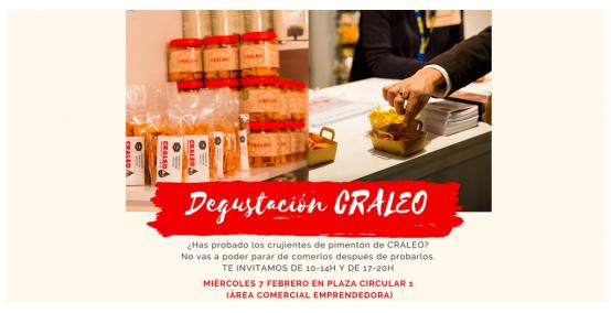 Degustación Craleo - Área Comercial Emprendedora