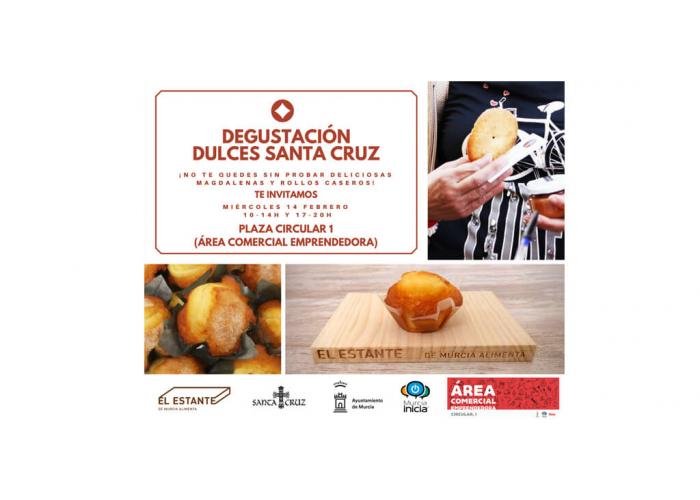 Degustación Dulces Santa Cruz - Área Comercial Emprendedora