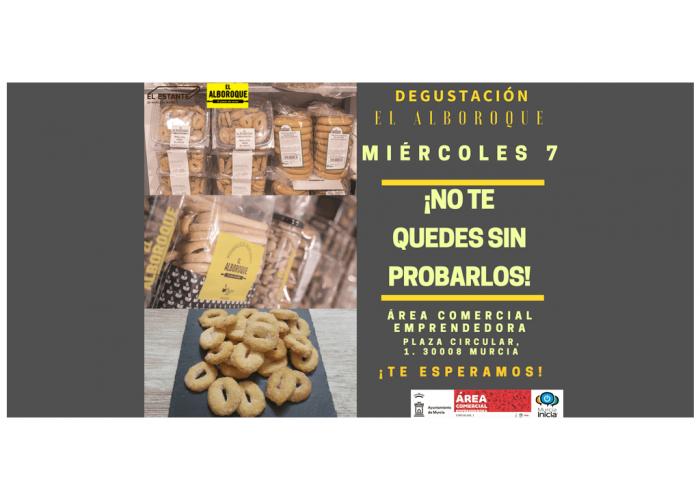 Degustación El Alboroque - Área Comercial Emprendedora