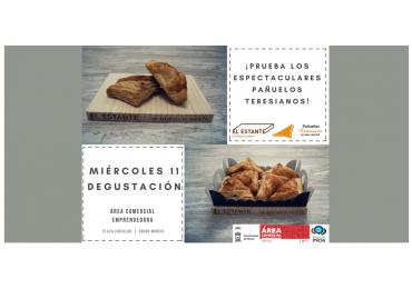 Degustación Pañuelos Teresianos - Área Comercial Emprendedora