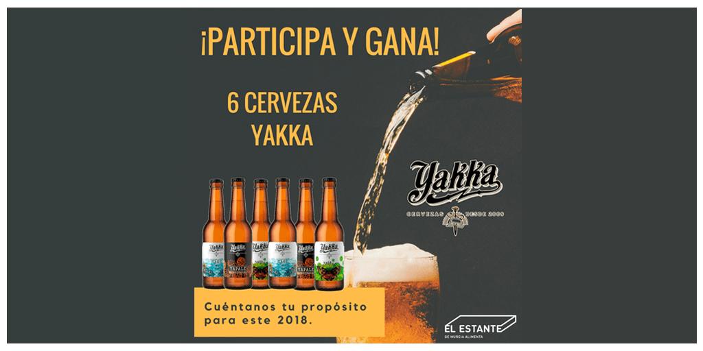 Tu propósito para 2018 con Cervezas Yakka